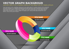 Vector business background with graph Royalty Free Stock Photo