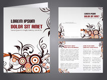 Vector business brochure Royalty Free Stock Photography