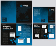 Vector Business Brochure and Tri Fold Flyer