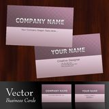 Vector business card  Stock Photos