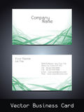Vector business card design Stock Photo