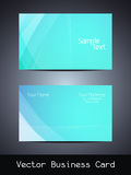 Vector business card design Royalty Free Stock Photo