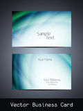 Vector business card design Royalty Free Stock Photography