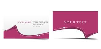 Vector business card set Stock Photo