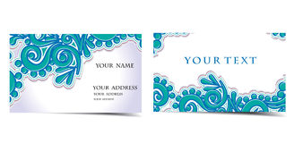 Vector business card set Stock Photo