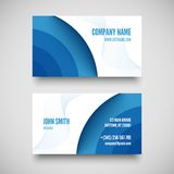 Vector business card set , elements for design. Vector illustration Royalty Free Stock Photo