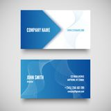 Vector business card set , elements for design. Stock Images