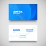 Vector business card set , elements for design. Royalty Free Stock Images