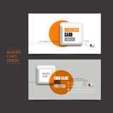 Vector business card set with keyboard. Professional vector business card set template with keyboard design Royalty Free Stock Images