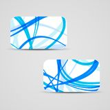Vector business-card set for your design Royalty Free Stock Image