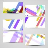 Vector business-card set for your design Royalty Free Stock Photo