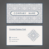 Vector Business Card Template Stock Photography
