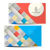 Vector Business Card Template Royalty Free Stock Photo