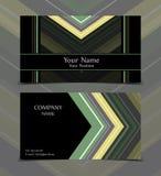 Vector business card Stock Photos