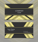 Vector business card. Templates. Modern design for corporate ID. Eps10 illustration Stock Photo