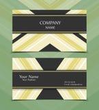 Vector business card. Templates. Modern design for corporate ID. Eps10 illustration stock illustration