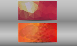 Vector Business Card Templates set Stock Photos
