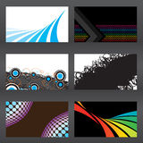 Vector Business Cards Royalty Free Stock Image