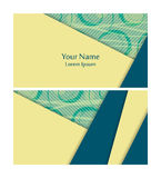 Vector business cards Stock Photo