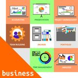 Vector - business concept Stock Image