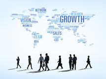 Vector Of Business Concepts All Around The World Stock Photos