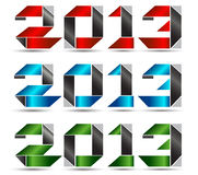 2013 vector Stock Image