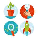 VEctor business concepts stock illustration