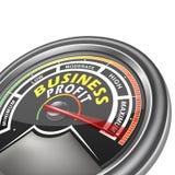 Vector business conceptual meter indicator Stock Photo