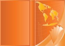 Vector Business Cover Design Royalty Free Stock Photos
