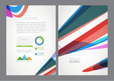 Vector Business Flyer Magazine Cover Royalty Free Stock Images