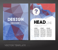 Vector Business Flyer Stock Image