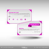Vector Business Frames. Infographics template. Design elements for web designs, presentations, brochures and flyers vector illustration