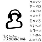 Vector Business Icons Stock Image