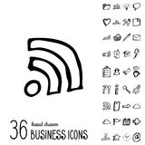Vector Business Icons Royalty Free Stock Image