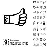 Vector Business Icons Stock Photos