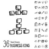Vector Business Icons Stock Photo