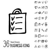 Vector Business Icons Stock Images
