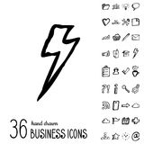 Vector Business Icons Royalty Free Stock Images