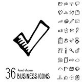Vector Business Icons Royalty Free Stock Photos
