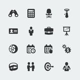 Vector business icons set. Vector business mini icons set Stock Images