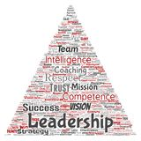 Vector business leadership strategy, management value Stock Photos