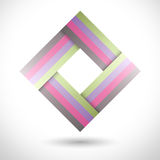 Vector business logo. Vector Logo, abstract shape. Business logo, business symbol. Abstract vector background. Format eps10 Royalty Free Stock Image