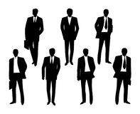 Free Vector Business Man Silhouette Royalty Free Stock Photography - 51822907
