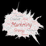 Vector business marketing target paint brush paper Royalty Free Stock Photo