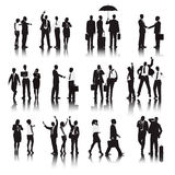 Vector of Business People Different Actions Concept Stock Photo