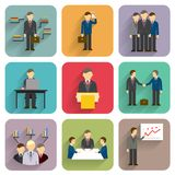 Vector business people Royalty Free Stock Image