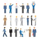 Vector business peoples Stock Photography