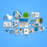 Vector business style Royalty Free Stock Photo
