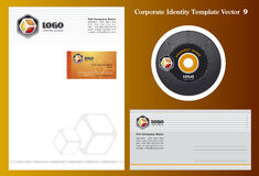 Vector Business Template Stock Photos