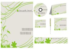 Vector business template collection Stock Photo